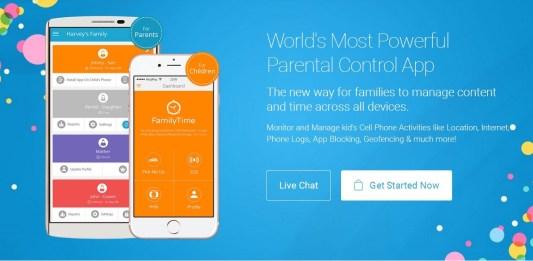 iOS Parental Monitoring App