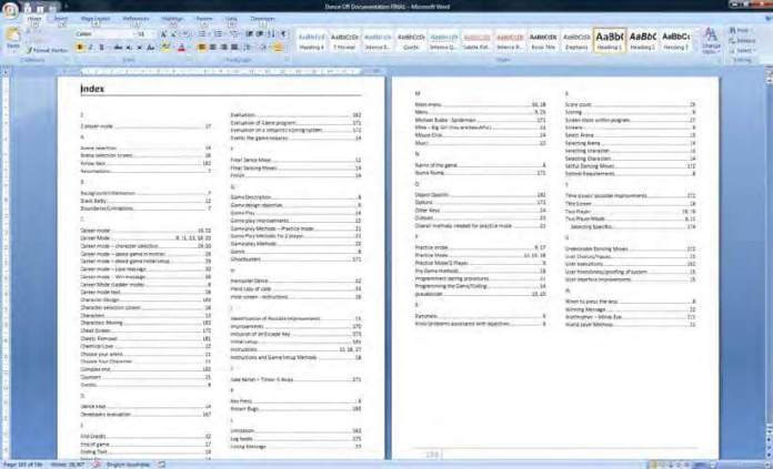 How to create index in word 2016: Create table of contents in word