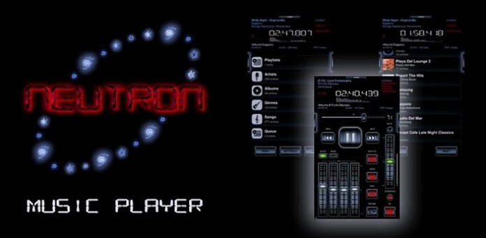 Neutron Music Player best android music app