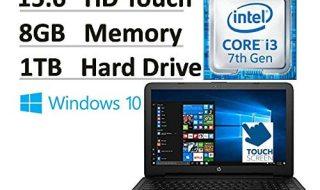 2017 HP Flagship 15.6 15-ay191ms Touchscreen Laptop Under $400 dollars best laptop under 400