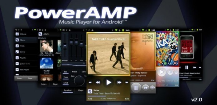 Poweramp Music Player best music player for android