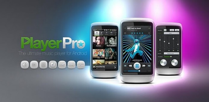 PlayerPro Music Player include album covers best music player for android