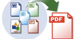 How to convert a word document to pdf on Windows and mac
