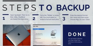 How to change the format of an external hard drive for Macbook Time Machine Backup