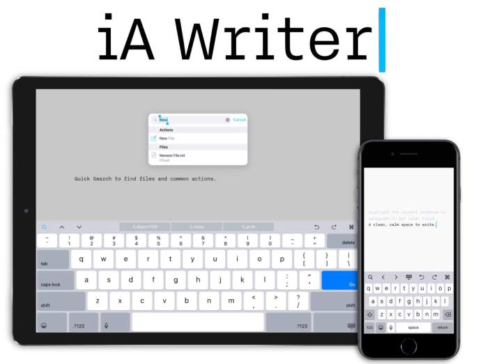 4 iA Writer - Best text editors for macOS, Windows, online, Android, iOS, Windows Phone