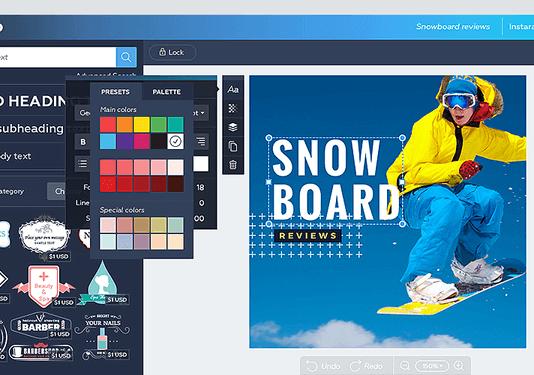 Best websites to create graphics online - Best Canva alternatives 2019