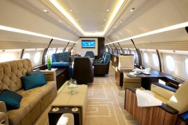 Το αεροσκάφος διαθέτει ακόμη και «δωμάτιο πανικού».