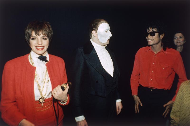 Η Λάιζα Μινέλι και ο Μάικλ Τζάκσον το 1988