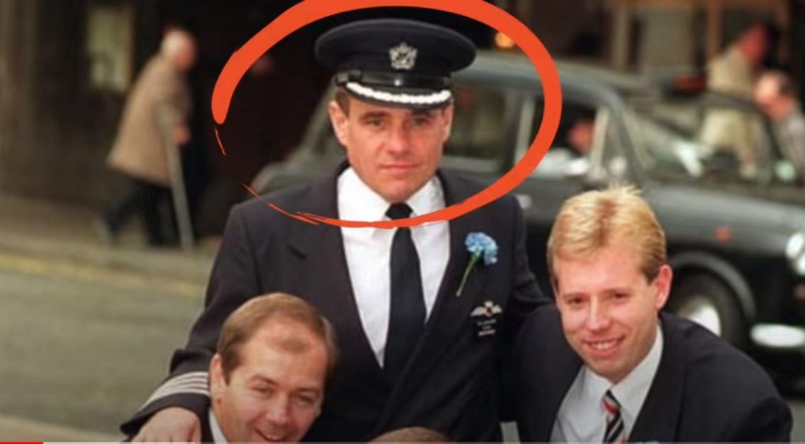 Ο πιλότος Τιμ Λάνκαστερ