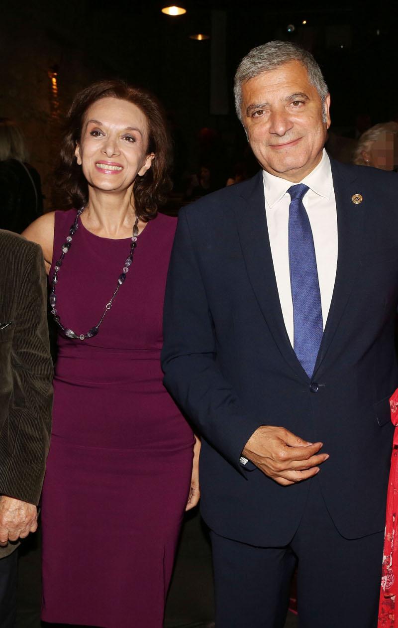 Η Μαίρη Βιδάλη και ο Γιώργος Πατούλης