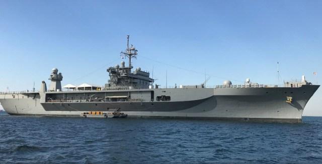 Η ναυαρχίδα του Αμερικανικού Στόλου USS Mount Whitney