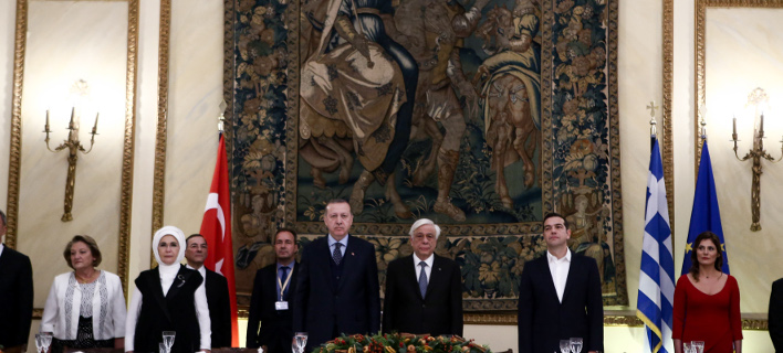 Image result for Σε εξέλιξη το επίσημο δείπνο προς τιμήν του Ερντογάν,