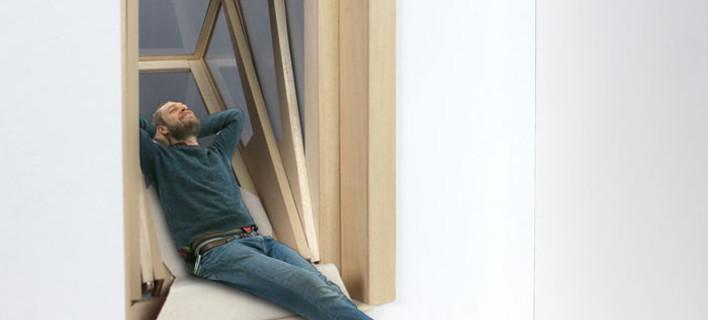 Το παράθυρο που γίνεται μόνο του μπαλκόνι -Μια κατασκευή-επανάσταση για τις πόλεις [εικόνες]