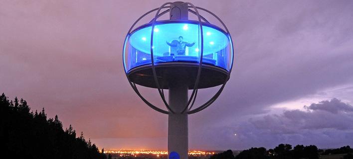 Skysphere: Το διαστημικό σπίτι που κόβει την ανάσα - Θέα 360 μοιρών και λειτουργίες με smartphone [εικόνες]
