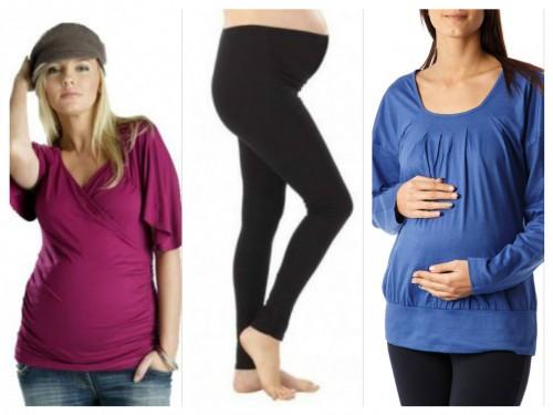 bluze și colanți maternitate