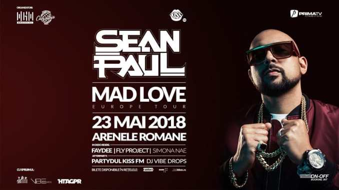 Concert Sean Paul 23 mai