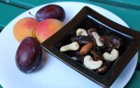 gustare sanatoasa caise, prune, caju, curmale, stafide, migdale