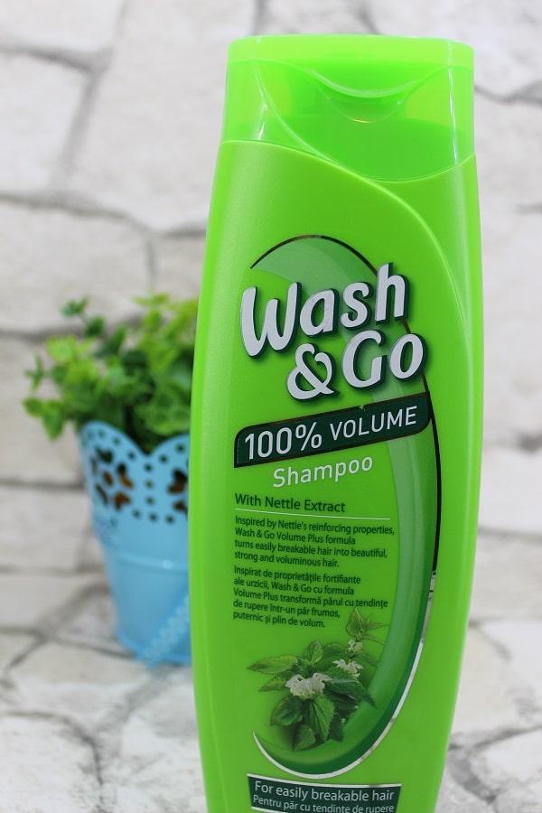 șampon Wash&Go urzică - pentru volum