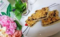 Prăjitură cu aluat răzuit, fără zahăr (de post)