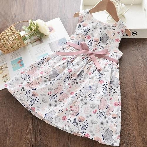 rochita fetite cu fluturasi
