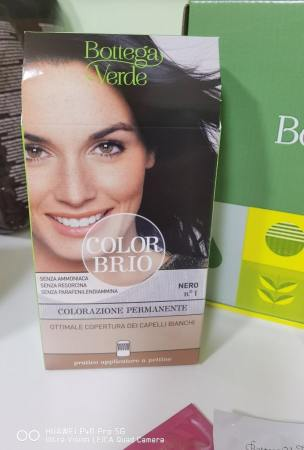 vopsea de par naturala color brio bottega verde
