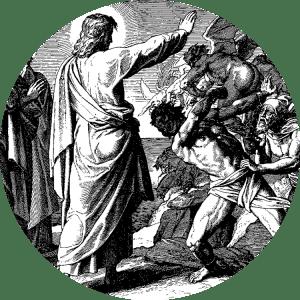 Jesus Casts Out Demons