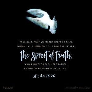 St. John 15.26