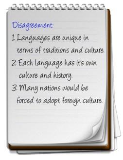 Each language has own culture