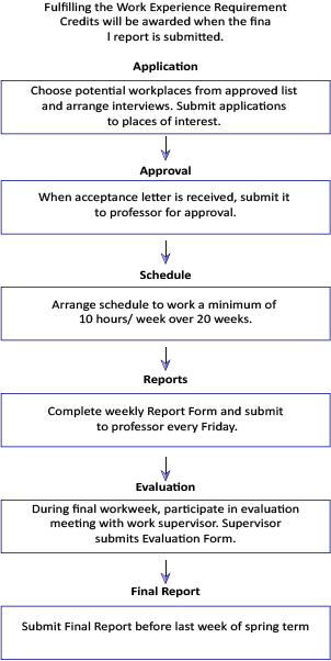 process involved in work experience