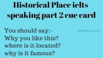 What place do you most like to visit ielts speaking part 1