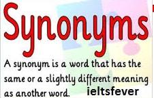 Useful Synonyms English Grammar Ielts Exam