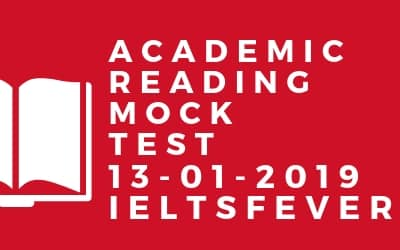 Academic reading Mock Test 13-01-2019
