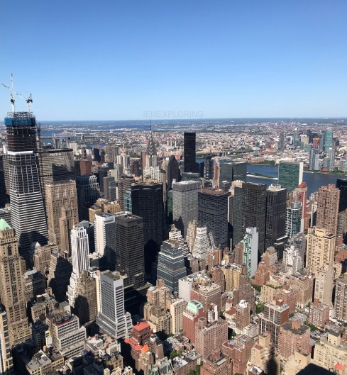 5 days in new york. Top things to do view from the empires state building