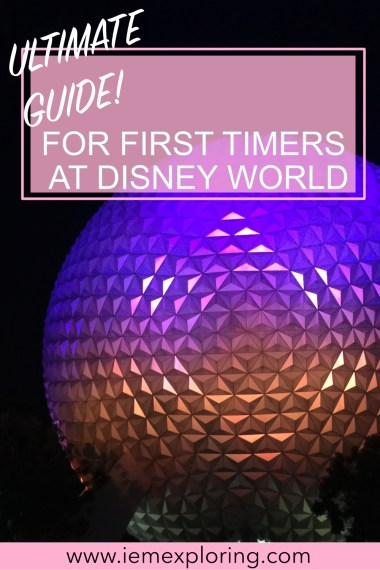 Ultimate Guide to Disney World Orlando- first timers