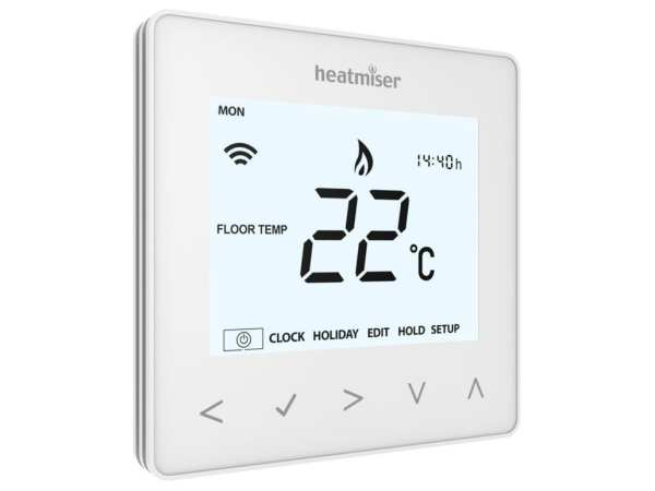 Product display of Heatmiser Wifi Thermostats