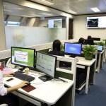 Prevención salud: puesto de trabajo en una oficina