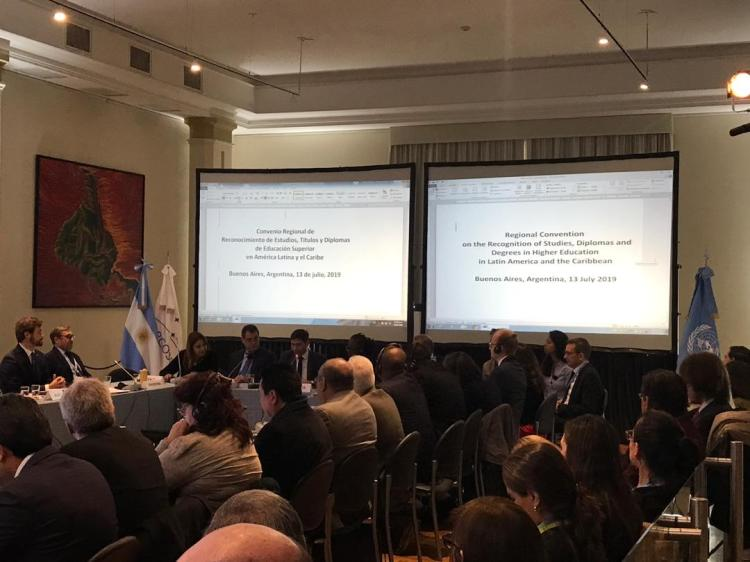 Clausura de Conferencia Internacional de Estados