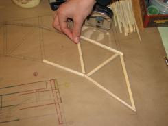 planos y piezas sobre plano