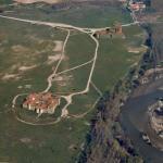 Vista aerea de Carrranque
