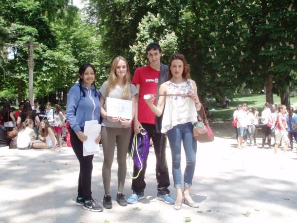 1er premio Gymkhana