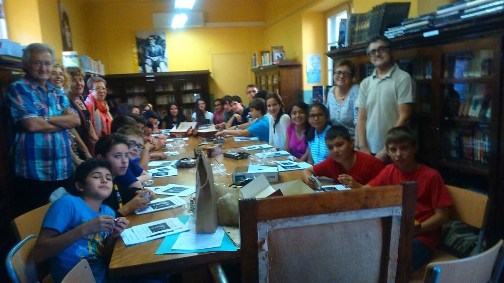 Club de lectura Cuartiella