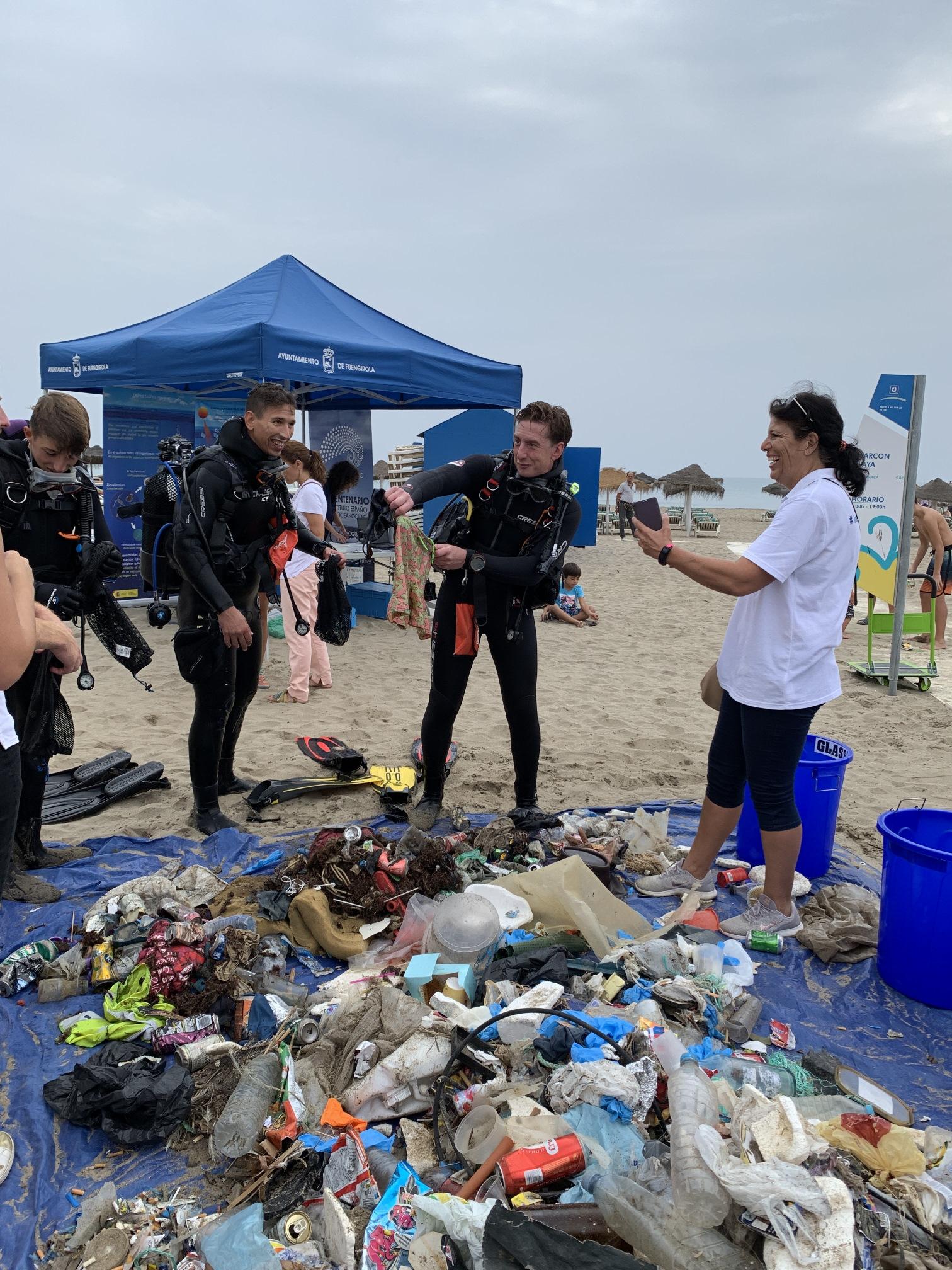 Residuos fondo marino