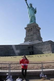Maria statue of liberty
