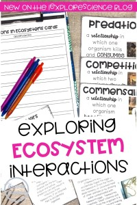 Exploring Interactions In Ecosystems: A Discovery Card Set