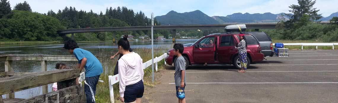 The trip to the Oregon Coast