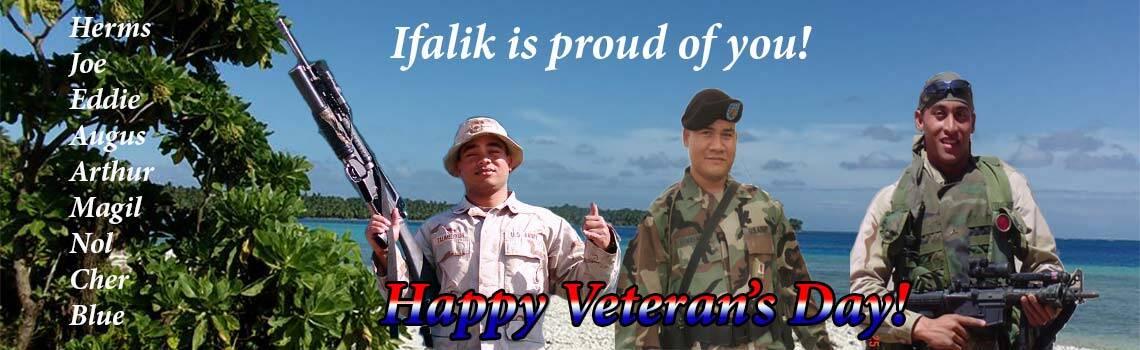 Happy Veteran's Day Souljaz – We are very proud of you