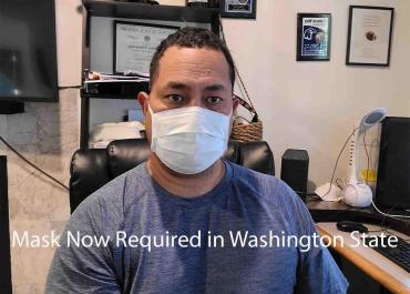 Mask now REQUIRED in Washington State