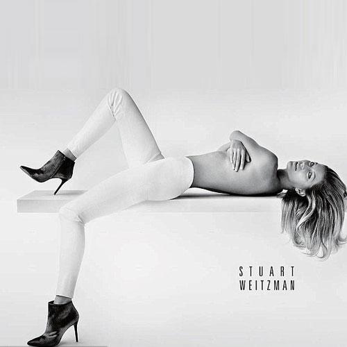 Topless Gisele for Stuart Weitzman