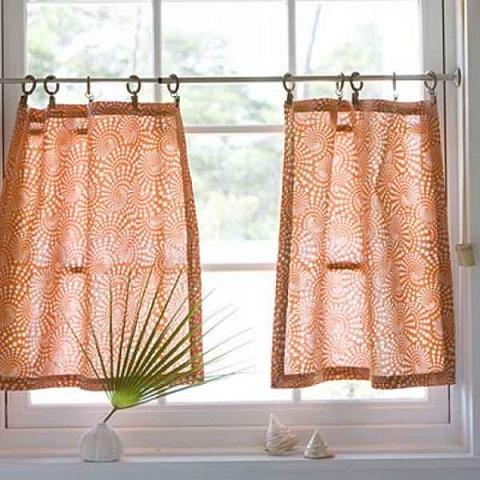 beautiful kitchen curtain designs