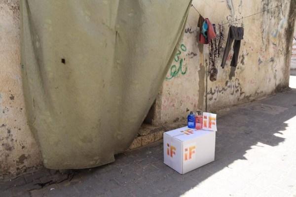 iF Charity - COVID-19 Gaza - Distributing Aid